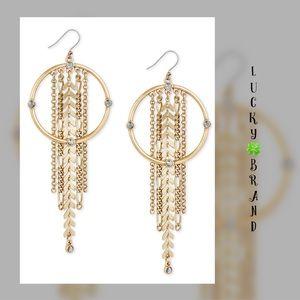 Lucky 🍀 Brand Drop Earrings ✨